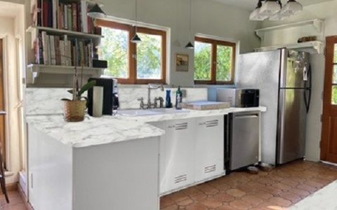 """""""R"""" Kitchen after improving with virtual quartz counters"""