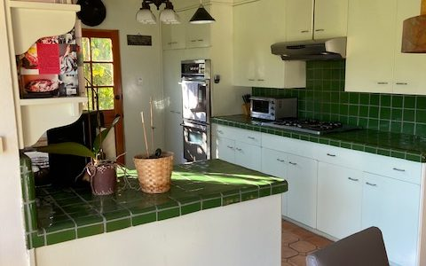 """""""R"""" Kitchen before improving with virtual quartz counters"""